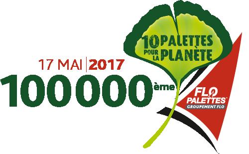 17 mai 2017 : 100 000ème arbre planté par le Groupement Flo